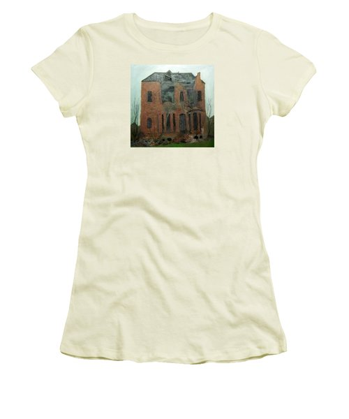 A Derelict House Women's T-Shirt (Athletic Fit)
