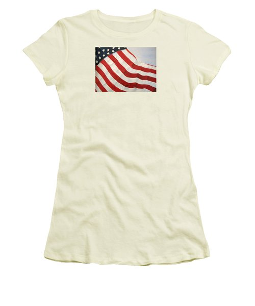 A Little Glory Women's T-Shirt (Junior Cut) by Carol Sweetwood