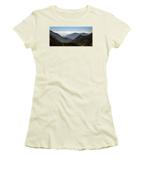 A Lofty View Women's T-Shirt (Athletic Fit)