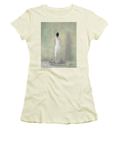 A Moment Alone Women's T-Shirt (Athletic Fit)