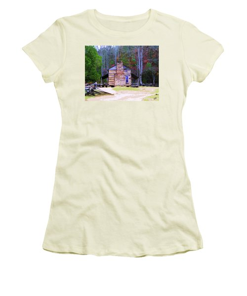 A Place In The Woods Women's T-Shirt (Athletic Fit)