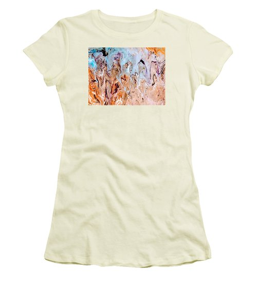 A Slice Of Earth Women's T-Shirt (Athletic Fit)