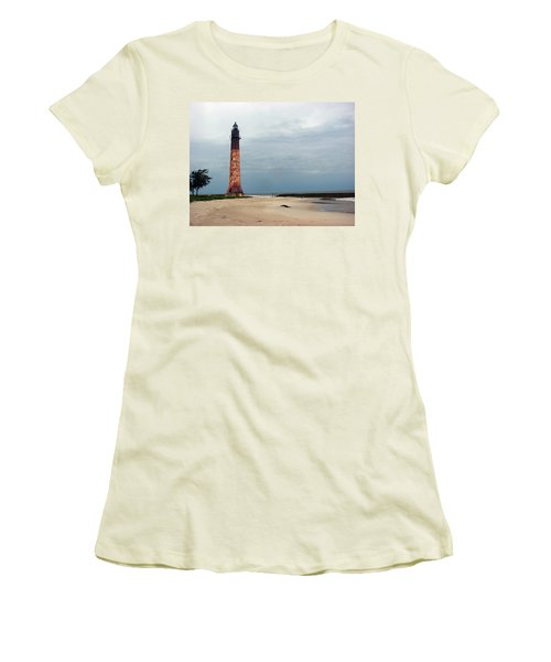 Abandon Lighthouse Women's T-Shirt (Athletic Fit)
