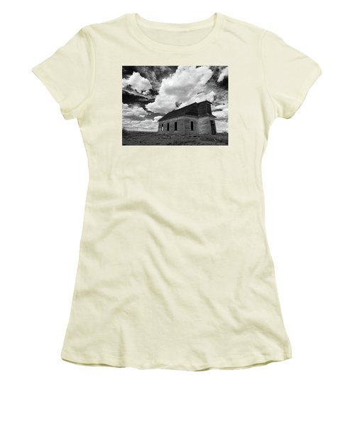 Abandoned Church  Women's T-Shirt (Athletic Fit)