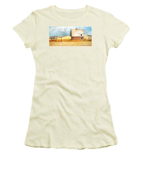 Abandoned Women's T-Shirt (Junior Cut) by Rebecca Davis