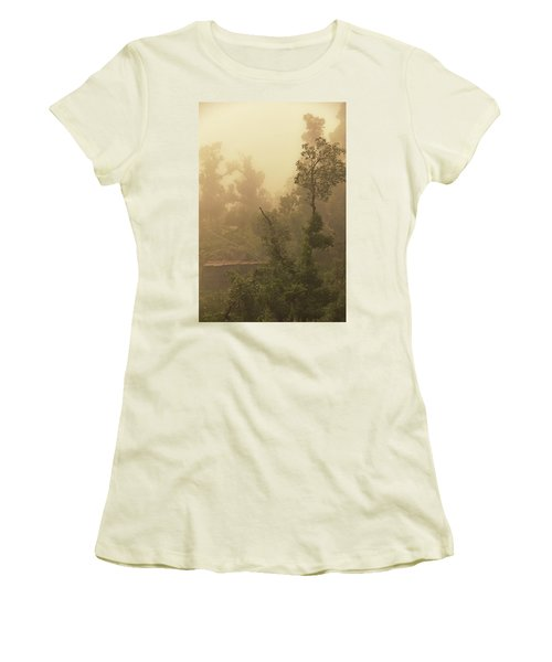 Abandoned Shed Women's T-Shirt (Junior Cut) by Rajiv Chopra