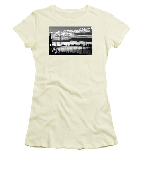 Women's T-Shirt (Athletic Fit) featuring the photograph Rising Above by Colleen Coccia