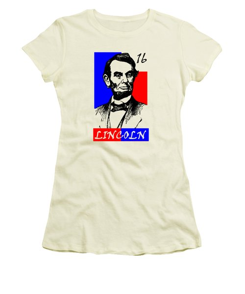Abraham Lincoln 16 Women's T-Shirt (Athletic Fit)