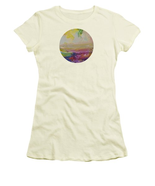 Abstract Impressions- Number 2 Women's T-Shirt (Athletic Fit)