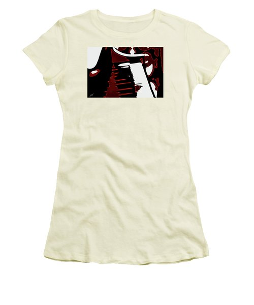 Abstract Piano Women's T-Shirt (Athletic Fit)