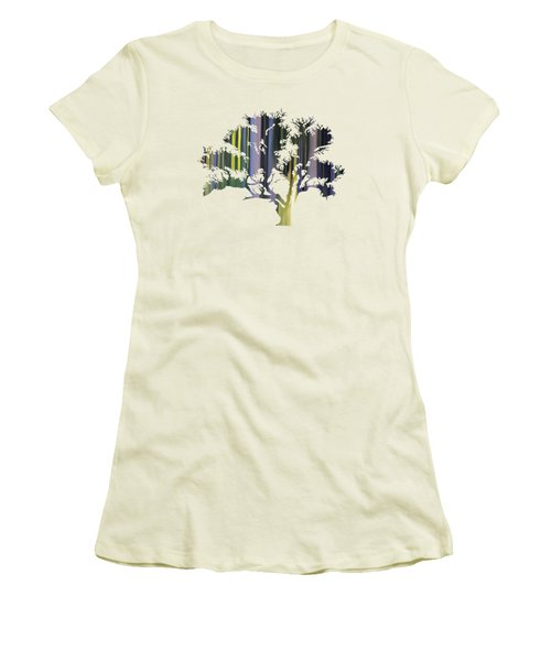 Abstract Tree Women's T-Shirt (Athletic Fit)