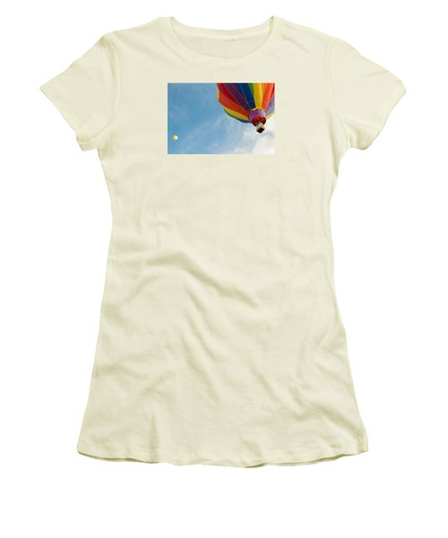 After Liftoff Women's T-Shirt (Athletic Fit)