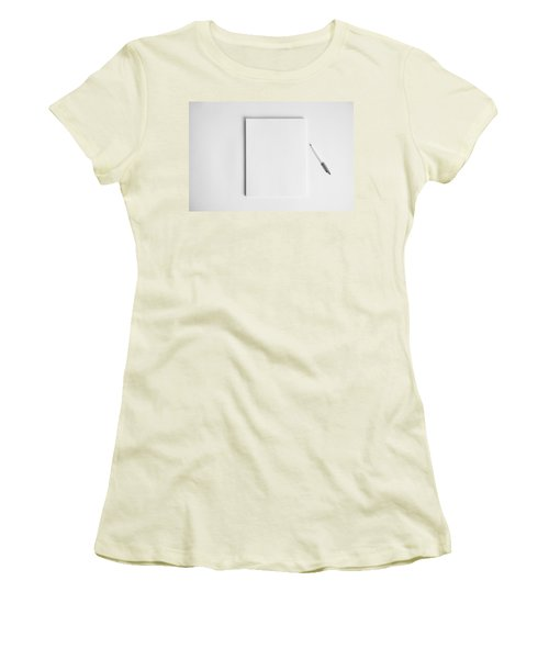 To Be Filled In Anyway You Like It Women's T-Shirt (Junior Cut) by Yvette Van Teeffelen