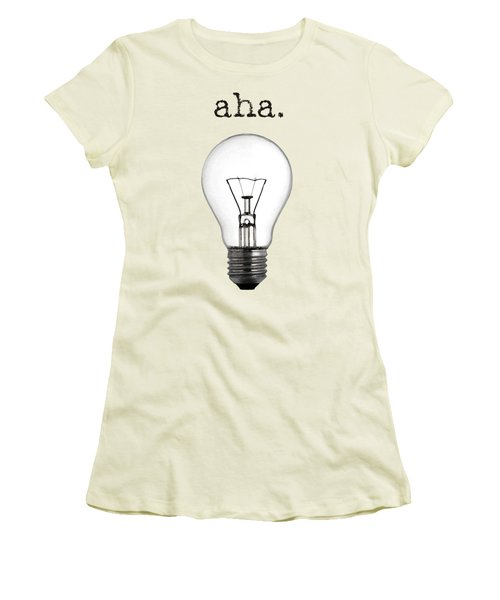 Aha Moment Women's T-Shirt (Athletic Fit)