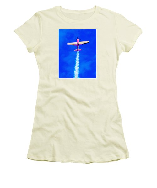 Air Show Women's T-Shirt (Athletic Fit)