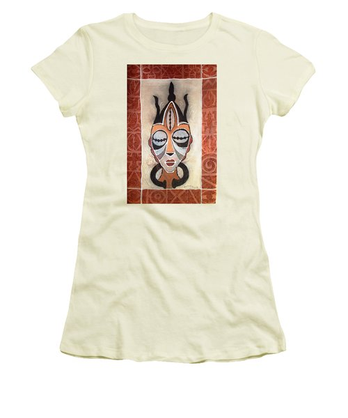 Aje Mask Women's T-Shirt (Athletic Fit)