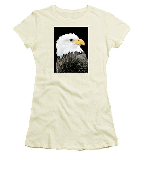 Alaskan Bald Eagle Women's T-Shirt (Athletic Fit)