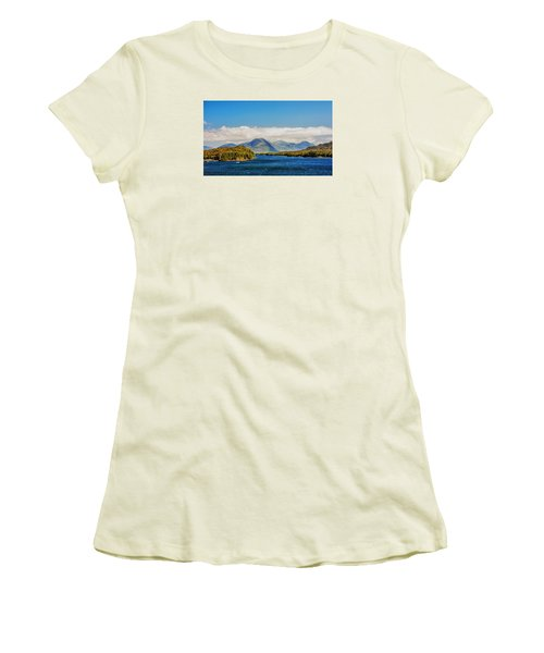 Alaskan Wilderness Women's T-Shirt (Junior Cut) by Lewis Mann