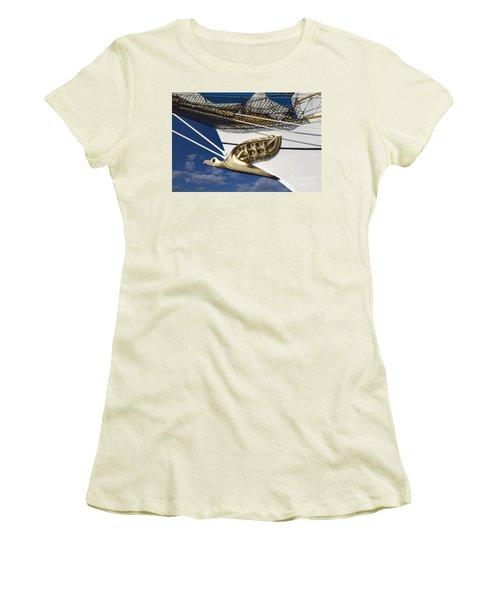 Albatross Figurehead Women's T-Shirt (Junior Cut) by Heiko Koehrer-Wagner