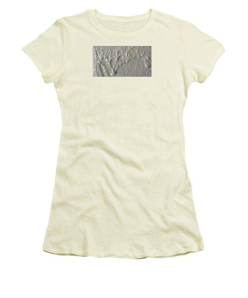 Alien Ram Charging From The Left Side Women's T-Shirt (Junior Cut) by Gyula Julian Lovas