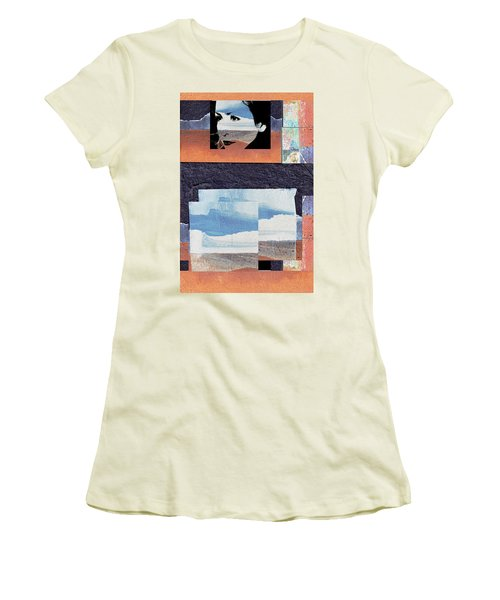 Women's T-Shirt (Junior Cut) featuring the photograph All That We See Or Seem Is But A Dream Within A Dream, Even She by Danica Radman