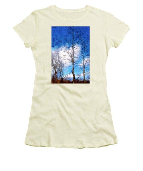 Almost Spring Women's T-Shirt (Junior Cut) by Spyder Webb