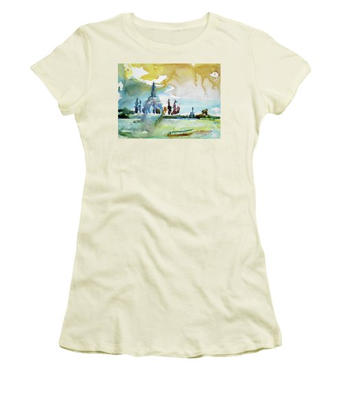 Along The Chao Phaya River Women's T-Shirt (Athletic Fit)