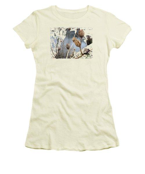 Along The River Women's T-Shirt (Junior Cut) by Vesna Martinjak