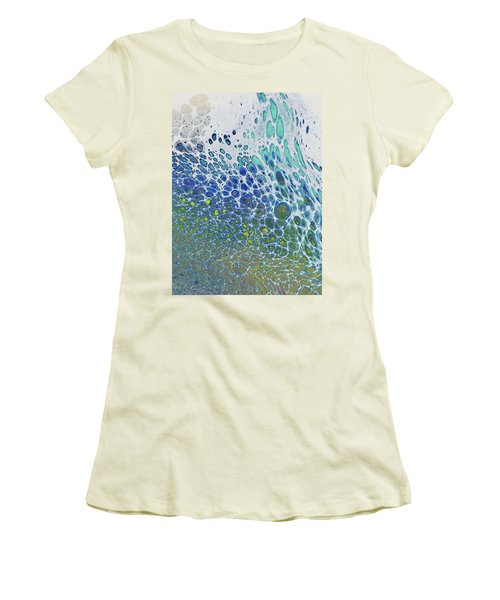 Along The Wish Filled Shore Women's T-Shirt (Athletic Fit)