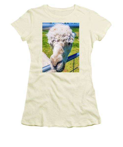 Alpaca Yeah Women's T-Shirt (Athletic Fit)