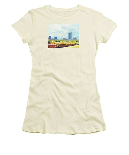 Amarillo Texas In The Spring Women's T-Shirt (Junior Cut) by Janette Boyd
