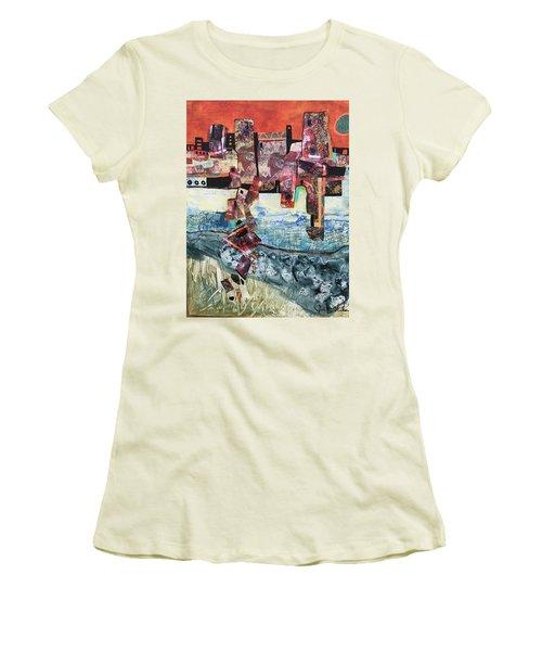 Amazing Places Women's T-Shirt (Athletic Fit)