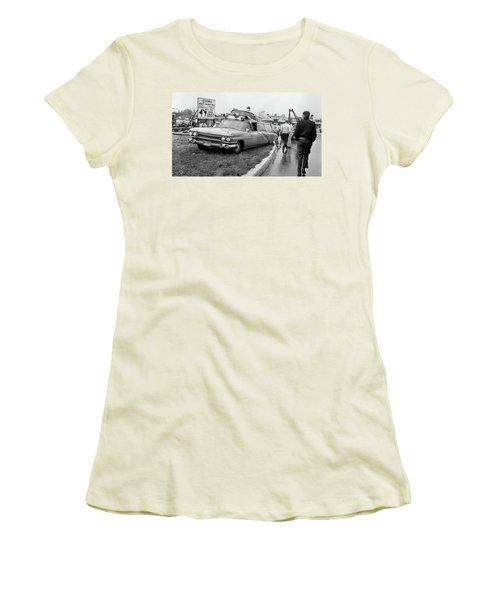 Ambulance Accident Women's T-Shirt (Junior Cut) by Paul Seymour