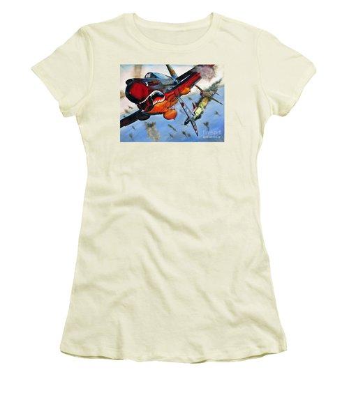 Ambushed Women's T-Shirt (Athletic Fit)