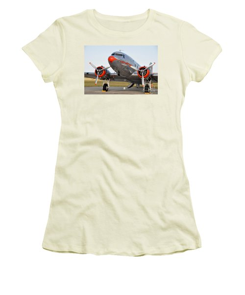 American Airlines Dc3 Women's T-Shirt (Athletic Fit)