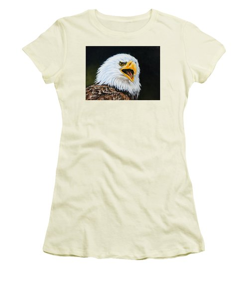 American Bald Eagle Women's T-Shirt (Athletic Fit)