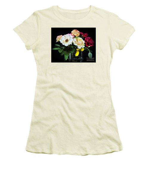 Women's T-Shirt (Junior Cut) featuring the photograph An Informal Study by Tom Cameron