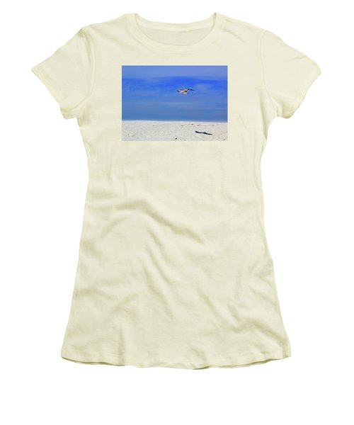 Women's T-Shirt (Junior Cut) featuring the photograph Ancient Mariner by Marie Hicks