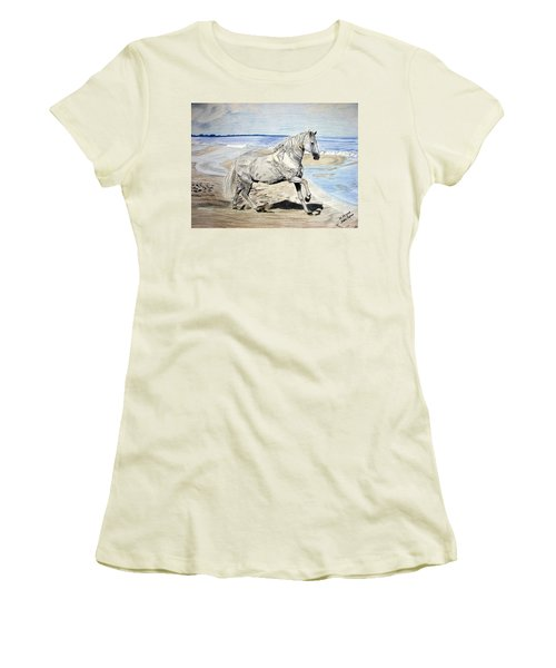 Andalusian Horse Women's T-Shirt (Athletic Fit)