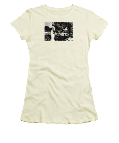 Angel 008 Women's T-Shirt (Junior Cut) by Michael White