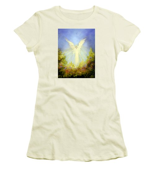 Angel's Garden Women's T-Shirt (Athletic Fit)