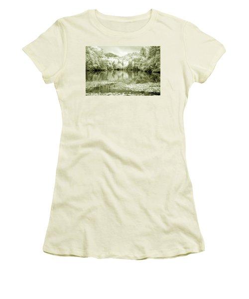 Women's T-Shirt (Junior Cut) featuring the photograph Another World by Alex Grichenko