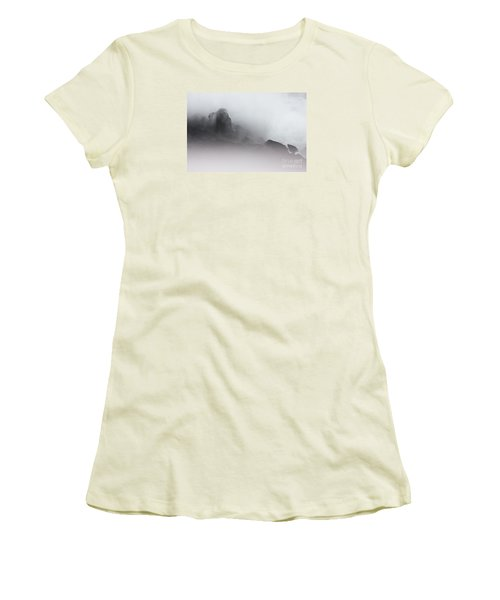 Women's T-Shirt (Junior Cut) featuring the photograph Another World by Dana DiPasquale