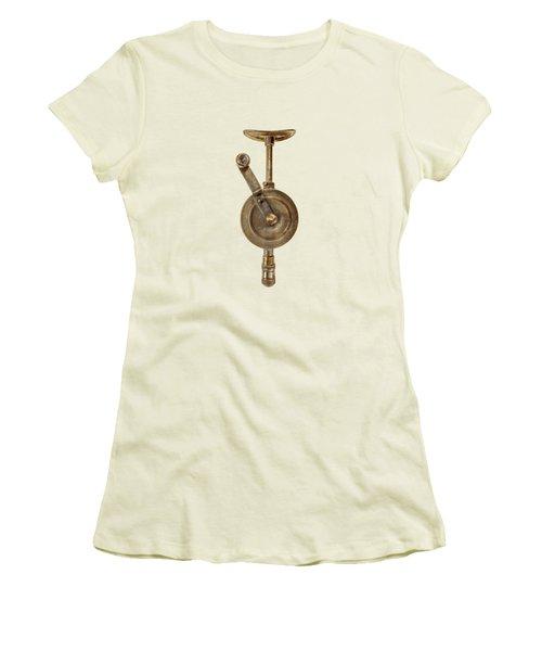 Antique Shoulder Drill Front Side Women's T-Shirt (Athletic Fit)