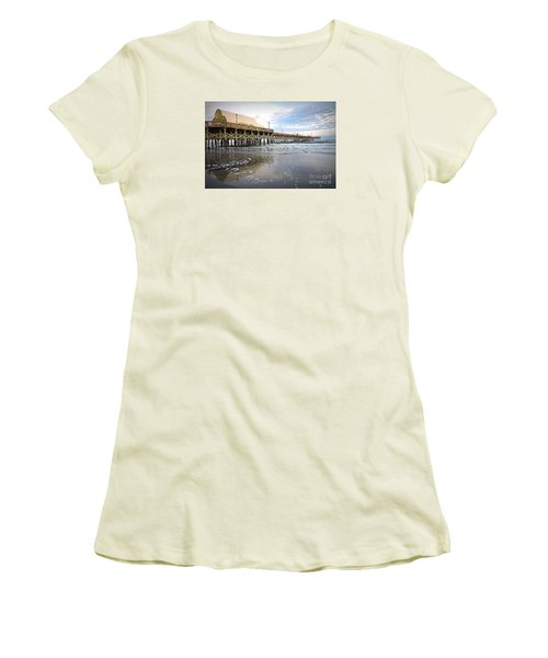 Apache Pier Women's T-Shirt (Junior Cut) by Shelia Kempf