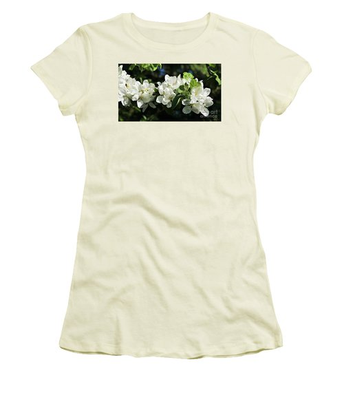 Apple Blossoms 2017 Women's T-Shirt (Athletic Fit)