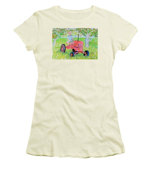 Apple Tree Farmer Sean Smith Women's T-Shirt (Athletic Fit)