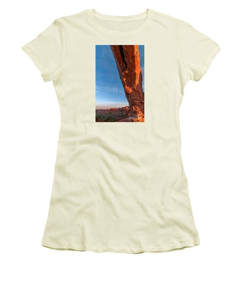 Arch View Women's T-Shirt (Junior Cut) by Sharon Seaward