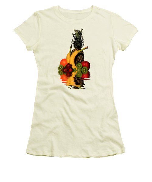 Fruity Reflections - Light Women's T-Shirt (Junior Cut) by Shane Bechler
