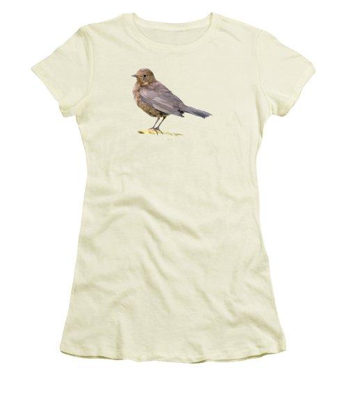 Young Blackbird  Women's T-Shirt (Junior Cut)